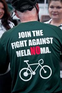 IMG Fight melanoma shirt