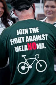 IMG Fight melanoma shirt