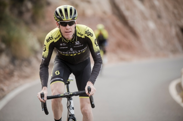Mitchelton-Scott training camp  Almeria, Spain february 2019 ©kramon